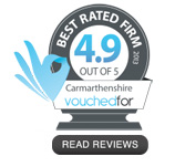 VouchedFor rating and reviews for Heddwyn James, IFA CARMARTHEN
